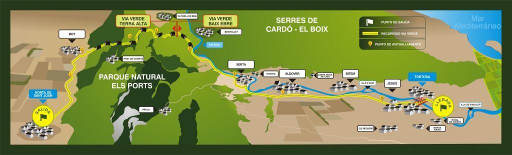 Marató Vies Verdes MVV Tarragona 2016 @ Horta de Sant Joan