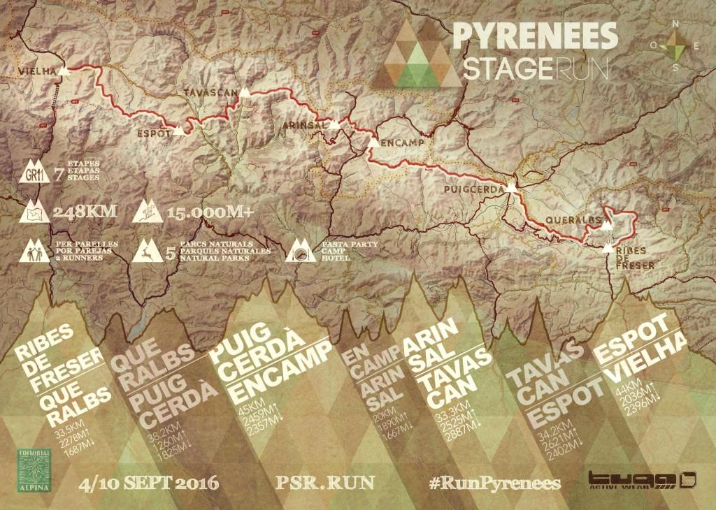 Pyrenees Stage Run - PSR @ Ribes de Freser