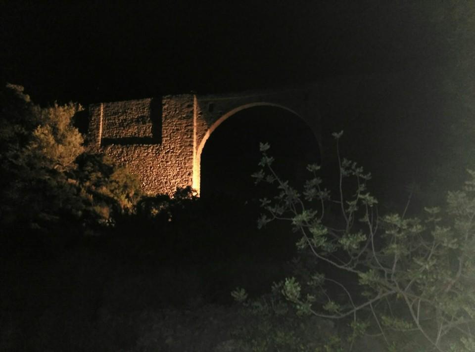 Pont de les Canal de nit