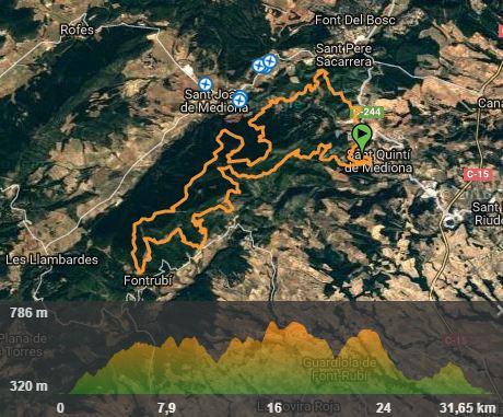 Trail Terres de Mediona @ Sant Quintí de Mediona