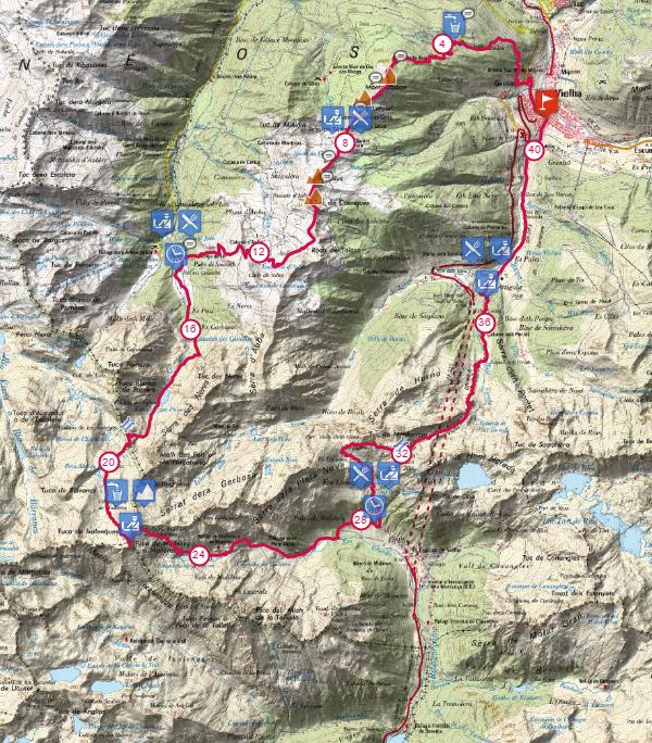 Trail Vielha Molieres 3010 @ Vielha - Santet Casau