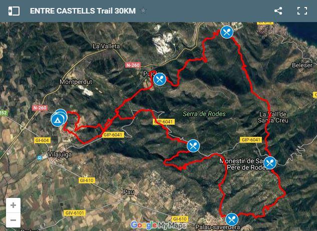 Entre Castells Trail Vilajuïga 2017 @ Vilajuïga