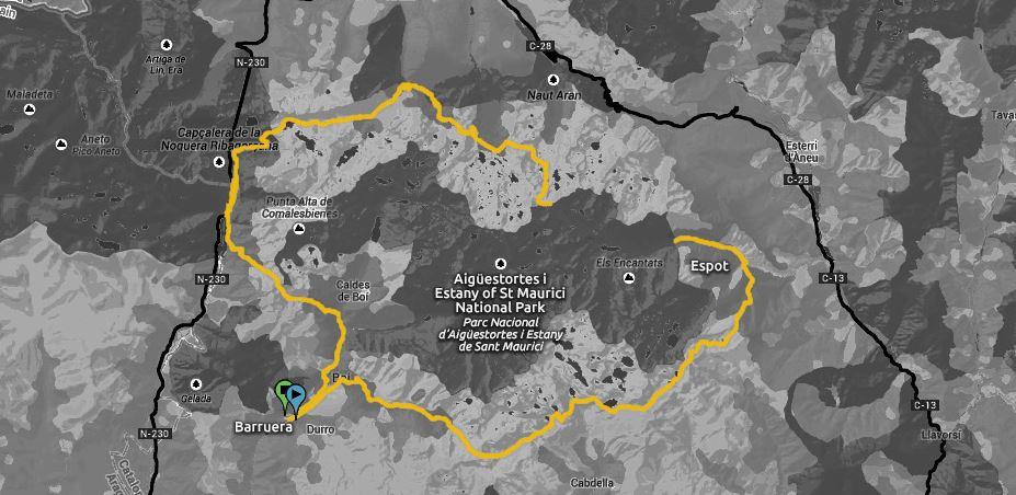 BUFF Epic Trail Aigüestortes Sant Maurici 105km @ Barruera