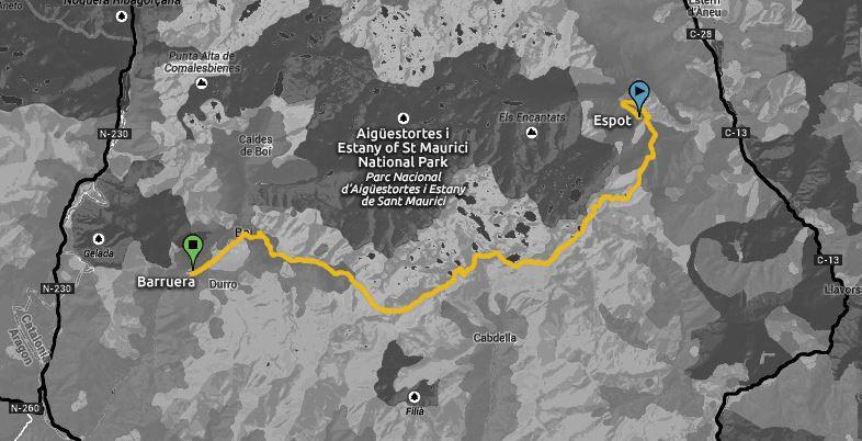 BUFF EPIC TRAIL Aigüestortes Sant Maurici 42km @ Espot