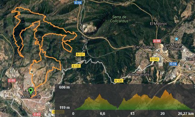 Trail Ermites Olesa 2017 @ Olesa de Montserrat