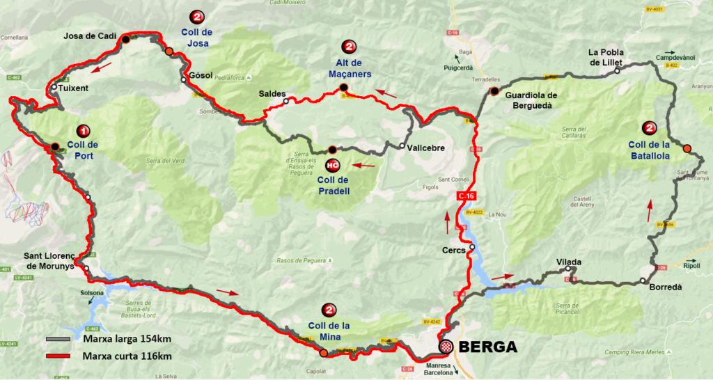 La Ruta Minera 2017 (Marxa Cicloturista) @ Poliesportiu Municipal BERGA