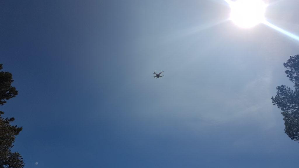 dron pujada al ros