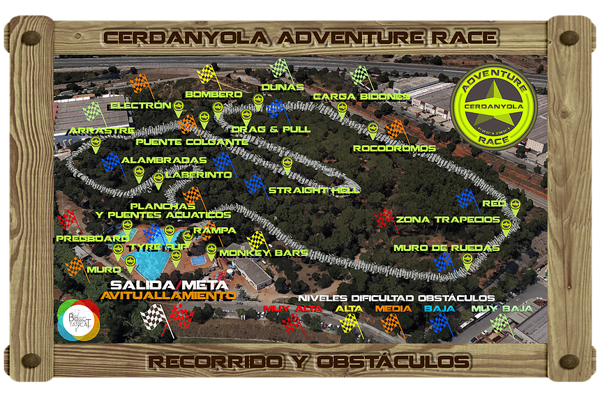 Cerdanyola Adventure Race - Equips Setembre 2017 @ Bosc Tancat