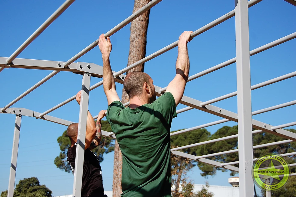 cerdanyola adventure race monkey bars