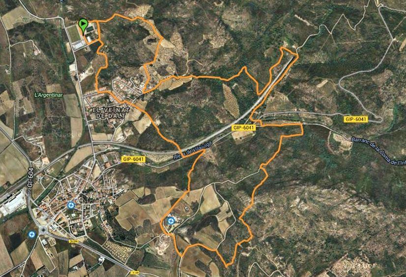 Cursa de muntanya ENTRE CASTELLS NOCTURNA 2017 @ Vilajuiga - Centre Cultural i Esportiu