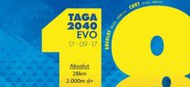 Guanya 1 dorsal GRATIS per la cursa de muntanya TAGA2040evo – 2017