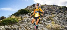 Elisenda Buscà i Toti Bes, guanyadors de la Trail Fonts del Montseny 2017