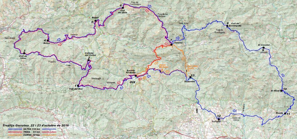 Trepitja Garrotxa 2017 - Ultra i Trail @ Oix (Alta Garrotxa)