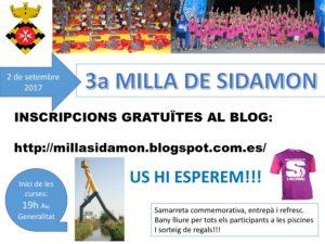 Milla de Sidamon 2017 @ Avinguda Generalitat (SIDAMON)