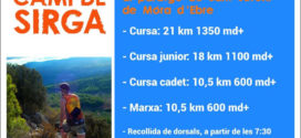 Inscripcions Obertes Cursa de Muntanya Camí de Sirga 2017