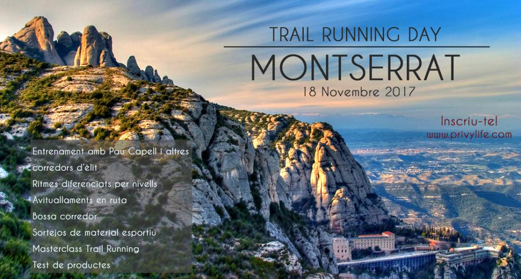 trail running day montserrat