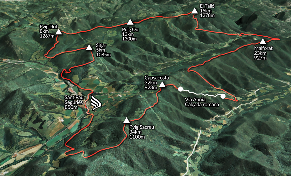 Centuria Trail 2017 @ Sant Pau de Seguries (Vall de Camprodon)