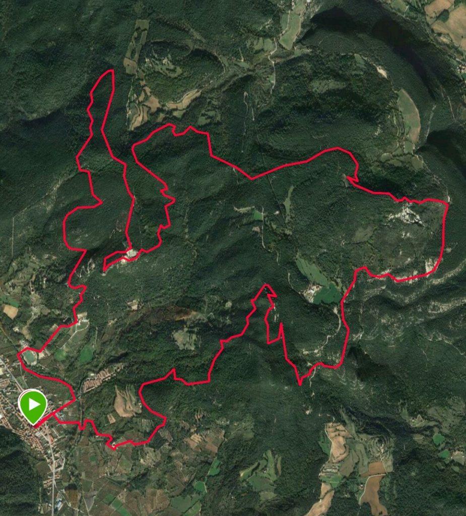 Trail Sant Brígida Up&Down Experience 2018 @ Plaça de la Vila d'Amer