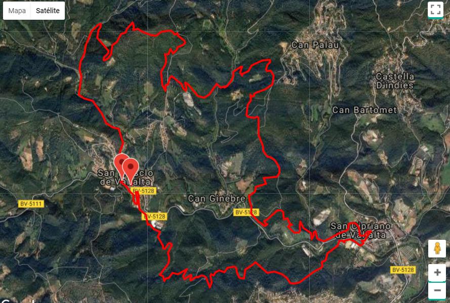 Vallalta Trail 2018 @ Sant Cebrià de Vallalta