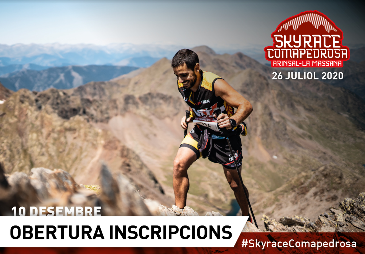 Skyrace Comapedrosa 2020 @ Arinsal, La Massana (AND)